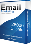 email marketing 25000 monthly emails